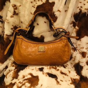 Dooney and Bourke Mini Ostrich Hobo